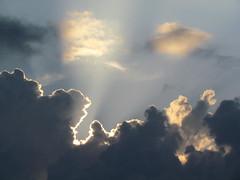 Clouds iridescence at Twilight (Apollo51x) Tags: light sunset sky sun storm weather skyline clouds sunrise canon skyscape solar movement skies spectrum gamma atmosphere ciel nuage cloudscape specter skysolar jasminhudon