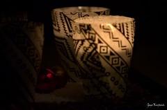 10:36 pm, December (Red Greg) Tags: december candle darkness adventwreath lowkey glitzern adventkranz