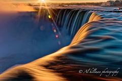 Horseshoe-20-H-F (Al Hillman) Tags: longexposure sky color water clouds sunrise niagarafalls golden niagara horseshoe