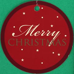 Merry Christmas (Leo Reynolds) Tags: squaredcircle christmas xmas tag label xleol30x sqset123 canon eos 40d xx2015xx sqset
