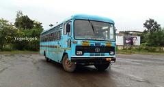 Gondiya - amgaon (yogeshyp) Tags: msrtc msrtcmanavvikasbus st