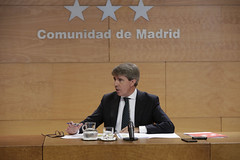 Consejo de gobierno de la Comunidad de Madrid, 18 de octubre de 2016 (Comunidad de Madrid) Tags: ngel garrido comparece en rueda de prensa posterior al consejo gobierno para dar cuenta los acuerdos adoptados