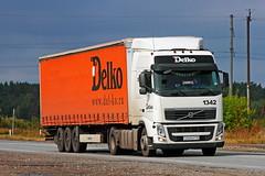 Volvo FH.440   869  116 (RUS) (zauralec) Tags: kurgancity therouter254irtysh volvo fh440  869  116 rus transport company delco