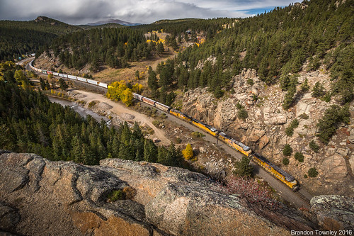 Union Pacific in Pinecliffe, CO