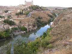 Panoramic view of Toledo (Shuki Raz) Tags: toledo panorama tagus tajo spain