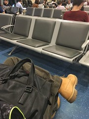 I have done my mission and ahead back to Shanghai now (Alfred Life) Tags: timberland  yellowboot