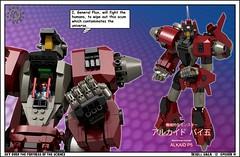 00 12 DeXell Saga III (messerneogeo) Tags: messerneogeo robot mech mecha dexell saga iii lego