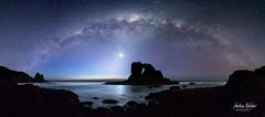 Keyhole Rock Milky Way (hakannedjat) Tags: newzealand nz sony sonya6300 sonynz milkyway stars venus galaxy galacticcore astro astrophotography astonomy astrology milkway astroscape nautical nauticalend westcoast auckland visitauckland