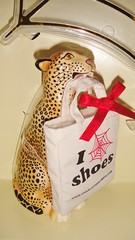2016 Charlotte Olympia Barbie (10) - Bruce the Leopard & Tote Bag (Paul BarbieTemptation) Tags: 2016 charlotte olympia barbie gold label designer carlyle nuera bruce leopard totebag