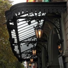 barcelona gran teatre del liceu (kexi) Tags: barcelona catalonia spain europe lamps square granteatredelliceu samsung wb690 september 2015 entrance marquee theater instantfave lanterns
