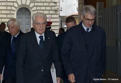 Il Presidente della Repubblica Sergio Mattarella (Ferrovie dello Stato Italiane) Tags: mattarella frecciarossa trenitalia fs italiane viaggio presidente