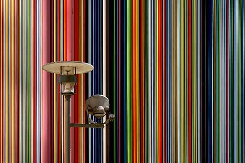 Rayures colorées
