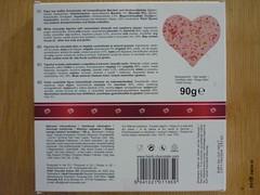 Heidi Pink Gourmet Heart (zazou.ciocolata) Tags: heidi romania milkchocolate whitechocolate chocolatefigure valentinesday 2529cocoa 3034cocoa raspberry fruit almond nut cranberry caramelizednut