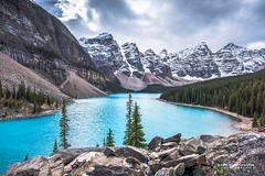 Valley of the Ten Peaks (R. Kent Squires) Tags: valleyofthetenpeaks morainelake banffnationalpark albertacanada