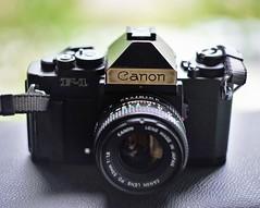 Two-tone Canon New F-1 (IamWadidiz) Tags: canonf1 canonslr canonfd canonnewf1 canonf1new cameraporn vintageslr vintagecanon vintagecamera slr filmcamera 135film 24x36