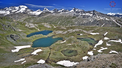 Gran Paradiso Scenery (Claudio Cantonetti) Tags: 2015 d7000 nikon claudiocantonetti gran nazionale paradiso parco places pngp travel nature landscape mountains scenery lakes lake snow grass green blue earth light italy park europe amazing top