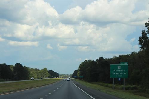 Florida I10eb Exit 142 1 mile