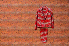 Brick Suit (scarlet-pimp) Tags: timeoutlondon turnerprize2016 londonist london suit physicalrealisations turnerprize brick art redbrick visitlondon bricksuit antheahamilton tatebritain
