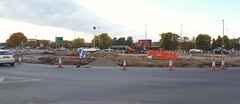 A41 changes,  Bicester,  October 2016 (sbally1) Tags: bicester a41 bicestervillage gardencity oxfordshire construction