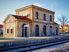Estación * Illescas (Periqui) Tags: illescas ferrocarril europa