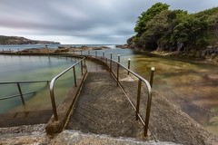 Ramp Rails (Crouchy69) Tags: sunrise dawn landscape seascape ocean sea water coast clouds sky motion long exposure malabar pool sydney australia
