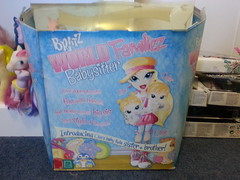 $65 box is far from mint (Dazzlestar1) Tags: bratz mga forsale yasmin sasha chloe jade dolls