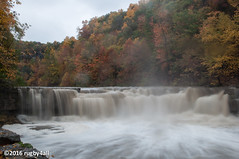 Taughannock Falls Lower Fall (rugby4all) Tags: fall fallcolors taughannockfallsstatepark lowerfalls newyork ny nikon d90 1855mmf3556gedafsdx longexposure fingerlakes