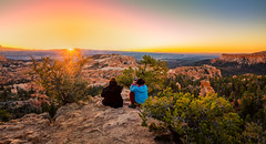 Sunsitters (KPortin) Tags: brycecanyonnationalpark canyon sunset people landscape view sun explore explored