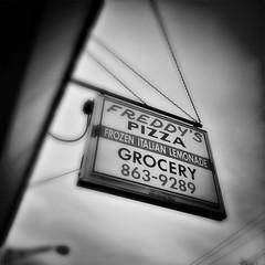 (336/366) Freddy's Pizza (CarusoPhoto) Tags: instagramapp square squareformat iphoneography iphone 7 plus bw monochrome john caruso carusophoto photo day project 365 366 cicero il illinois