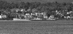 Scotland West Highlands Argyll Western Ferries car ferries picking up cars at Sandbank 29 May 2016 by Anne MacKay (Anne MacKay images of interest & wonder) Tags: scotland west highlands argyll western car ferries loading cars sandbank monochrome blackandwhite landscape xs1 29 may 2016 picture by anne mackay