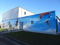 Sporthalle Kleiner Warnowdamm (fchmksfkcb) Tags: rostock mecklenburgvorpommern mecklenburg mecklenburgwesternpomerania