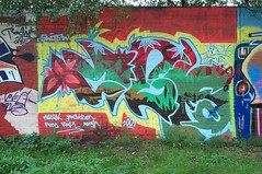 graf230901 - 9 (Ruhrgebiets Farben) Tags: graffiti 2002 b224 essen hall fame