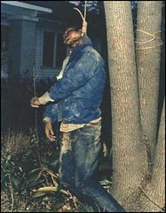 #Michael Douglas was kidnapped, tortured and lynched by two members of the United Klans of America after a jury failed to convict an unrelated black man of murdering a white policeman. This is known as the last american lynching. Alabama, 1981.[nsfw] [361 (Histolines) Tags: histolines history timeline retro vinatage michael douglas was kidnapped tortured lynched by two members united klans america after jury failed convict an unrelated black man murdering white policeman this is known last american lynching alabama 1981nsfw 361x464 vintage dh historyporn httpifttt2g7sugq