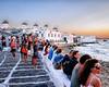Mykonos (Kevin R Thornton) Tags: d90 mediterranean landscape sunset travel street littlevenice city architecture windmill nikon mykonos greece sundowner mikonos egeo gr