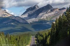 Heading Down the Icefields Parkway (Samantha Decker) Tags: ab alberta banffnationalpark canada canadianrockies canonef24105mmf4lisusm canoneos6d icefieldsparkway parkscanada rockymountains samanthadecker
