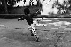 The Mini Rhythmic Gymnast (N A Y E E M) Tags: umar kalam son play today morning lawn frontyard home rabiarahmanlane chittagong bangladesh joy lulu