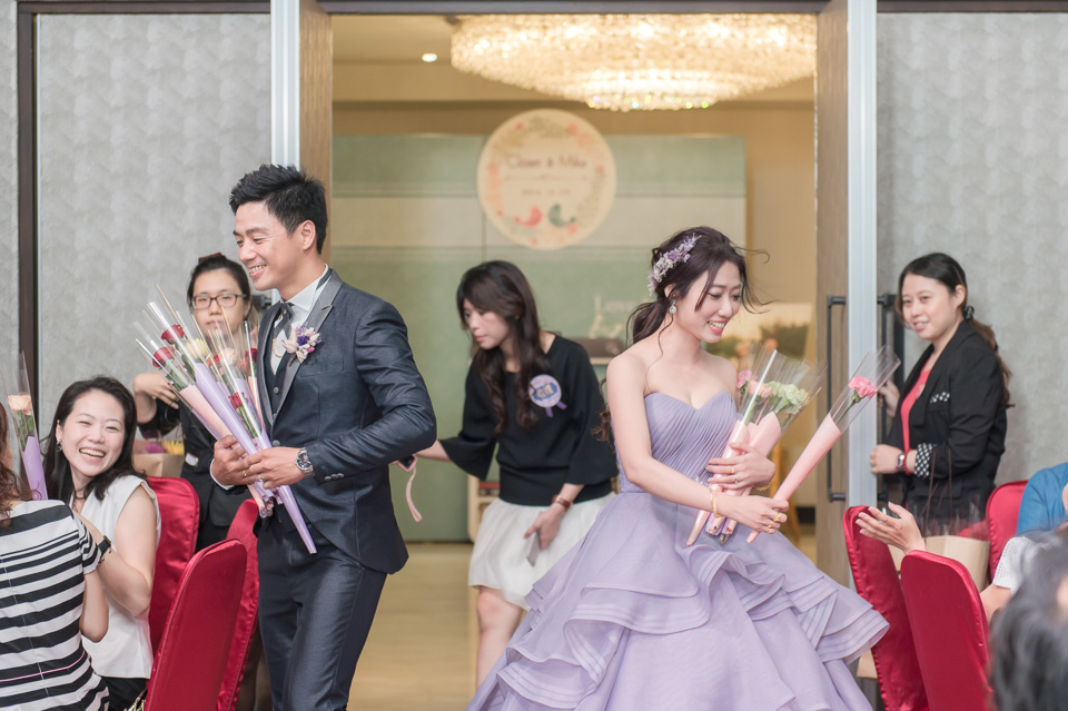 台南婚攝 婚禮紀錄 情定婚宴城堡 C & M 144
