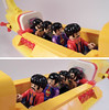 10-LEGO Ideas 21306 - Yellow Submarine_inside with band (Sweeney Todd, the Lego) Tags: lego ringo john paul george beatles the submarine yellow minifigure minifigures accessories box review photography