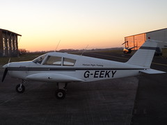 G-EEKY Piper Cherokee (Aircaft @ Gloucestershire Airport By James) Tags: gloucestershire airport geeky piper cherokee 28 egbj james lloyds