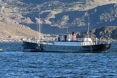 The ship Yavari on Lake Titicaca. (halbphoto) Tags: yavari casaandina peru ship puno