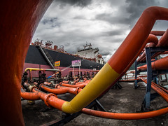 Teluk Bayur (Henry Sudarman) Tags: olympus pen ep5 olympuspen olympuspenep5 indonesia padang seaport sumaterabarat mirrorless mft m43