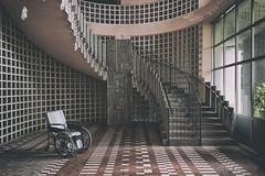 (Attilio Frignati) Tags: wheelchair urbex abandoned urbanexploration hospital abandonedhospital