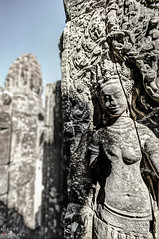 (Smiling goddess) (yuanmeng_) Tags: siemreap angkor angkorthom anthropomorphicface architecture artandcraft buddhism buildingexterior cambodia cambodianculture carvingcraftproduct circa12thcentury closeup colorimage famousplace history mahayana malelikeness nopeople outdoors partof photography religion sculpture statue stonematerial templebuilding thepast traveldestinations unescoworldheritagesite vertical