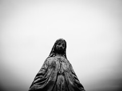 grave site (Kat Cig) Tags: grave site midwest statue blackandwhite bnw photography town cemetery