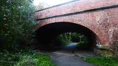 Rowntree Railway / Foss Island Branch   old railway  (York) (dave_attrill) Tags: york rowntree line foss island disused railway trackbed confectionery industry closed cycle path footpath sustrans national network goods 1895 1988 october 2016 wigginton road bridge