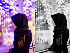 December Lights! (Zaina.Faraola) Tags: december lights decemberiscoming winters bokeh avenues grandavenues mall kuwait