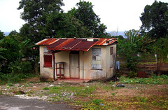 Jamaican House (~ Lone Wadi ~) Tags: annottobayjamaica caribbean westindies tinroof tropical island rural garden countryside peaceful residence house