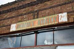 Minnesota, Wood Lake, 7-Up / Johnson Grocery (EC Leatherberry) Tags: minnesota yellowmedicinecounty woodlakeminnesota soda softdrink 7up johnsonsgrocery sign