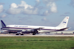N722GS Boeing 707-321C Pan Aviation (pslg05896) Tags: n722gs boeing707 panaviation mia kmia miami