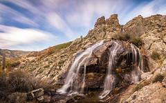 El agua fluye por la montaa (Victor:-)) Tags: agua alairelibre cascada color fotoconamparohervella largaexposicin luznatural montaas natural naturaleza nikond5200 otoo paisaje ro saltodeagua victoraparicio